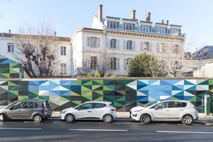 Embellir Paris : Tangram sur Raspail Aldric Beckmann