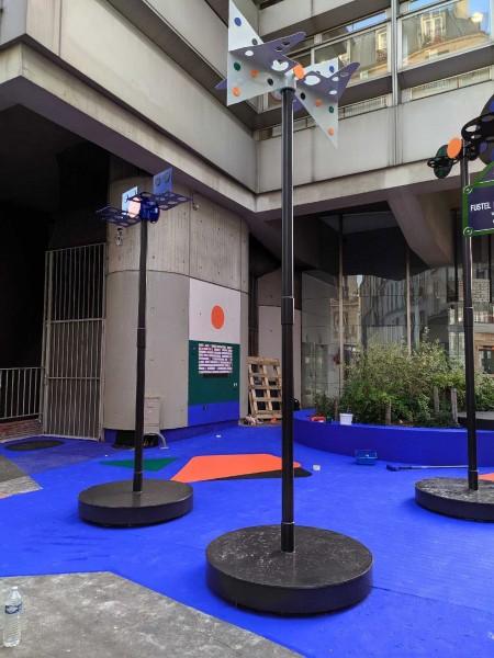 Embellir Paris : Drone mobile Paul Loubet et atelier 7 octobre architectes