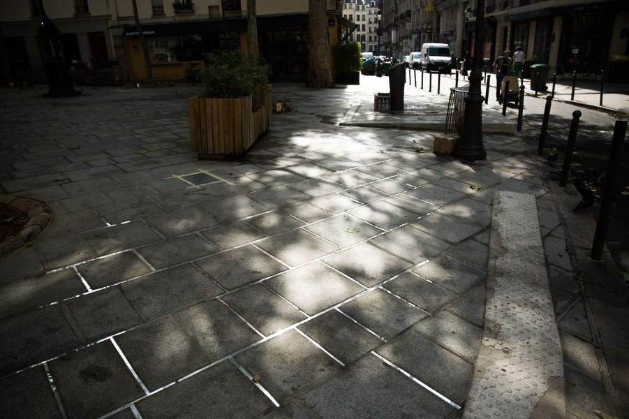 Embellir Paris : Les 3 nuages de Gilles Brusset