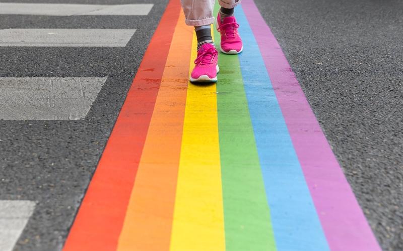 Passages piétons LGBTQI+ Place Gambetta
