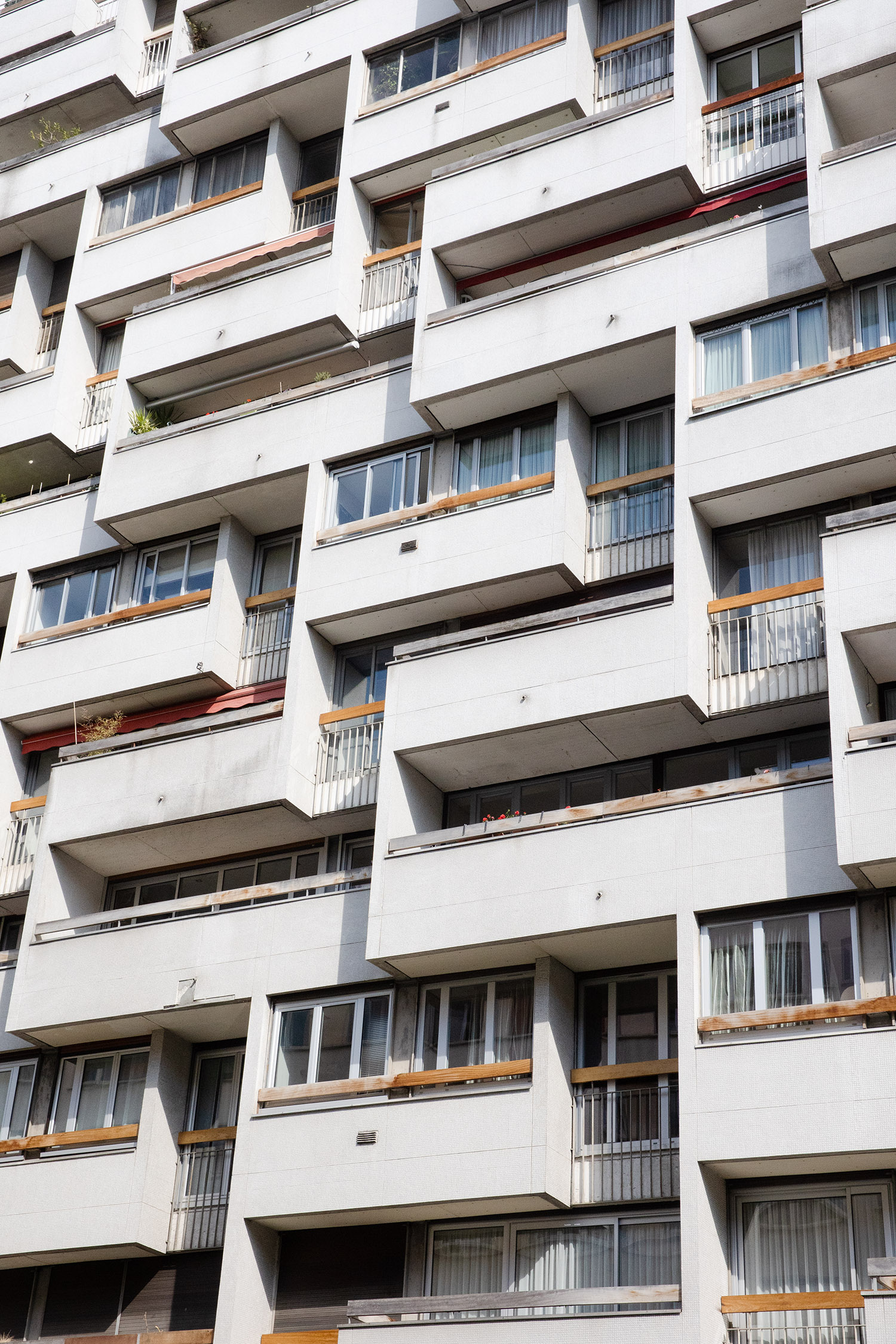 Résidence Le Vermandois,19-21 rue de Dantzig, 15e - 1965