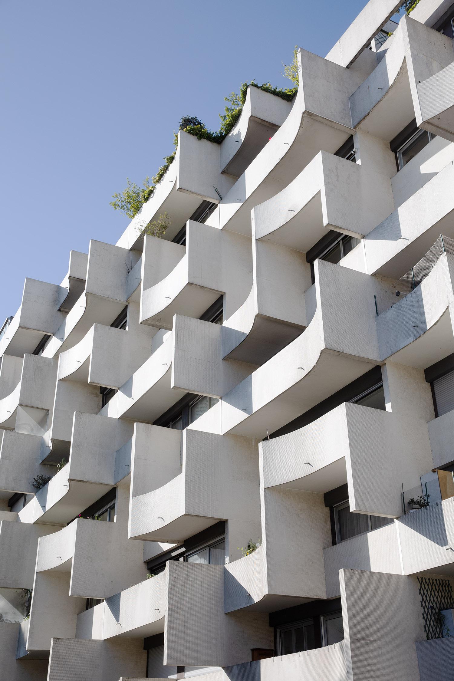 Résidence du Parc, Rue de Vaugirard, 15e - 1972