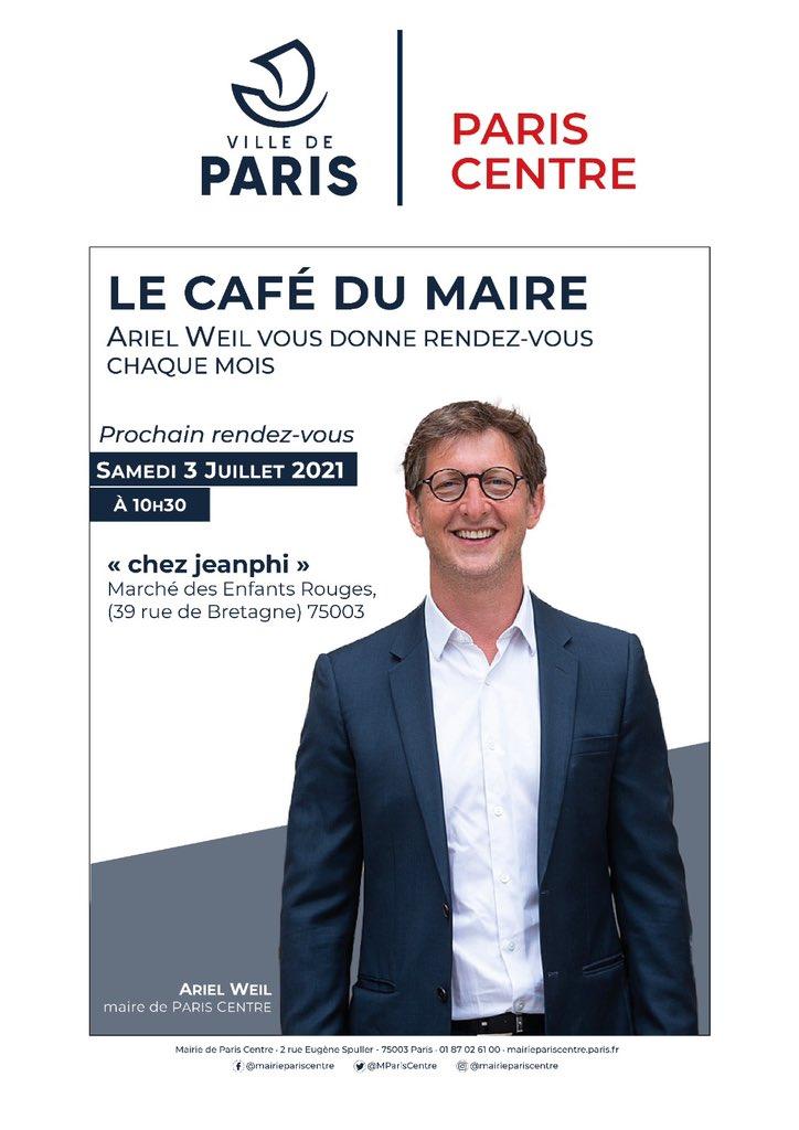 Café du Maire / Juillet 2021