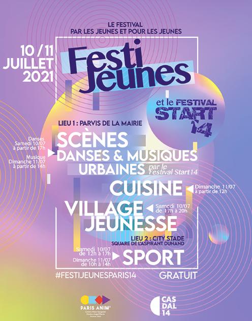 L'affiche du FestiJeunes