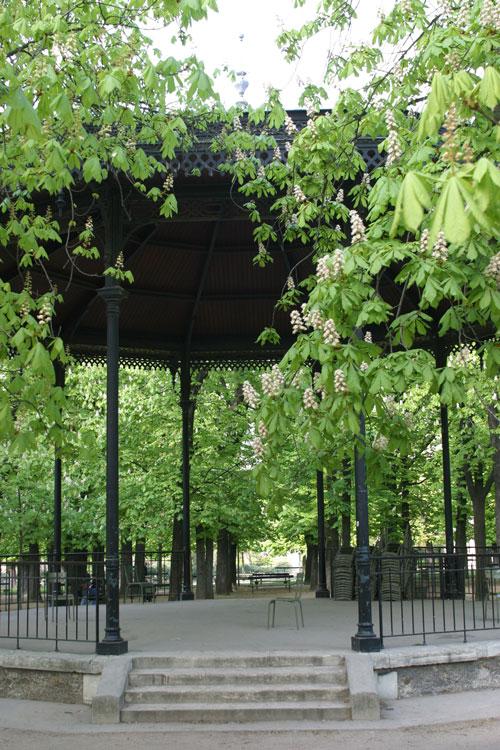 kiosque jardin Luxembourg