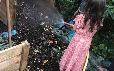 arrosage de compost