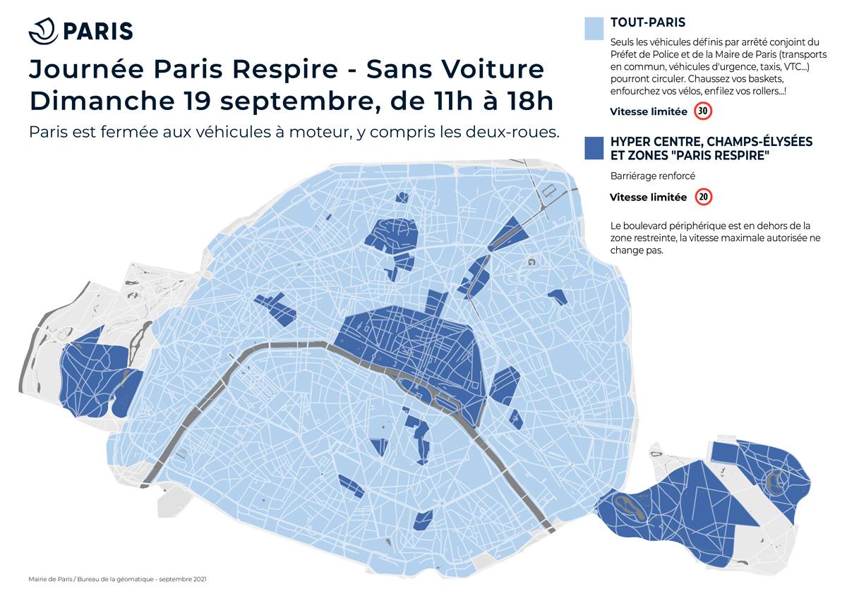 Paris Respire – Sans Voiture 2021