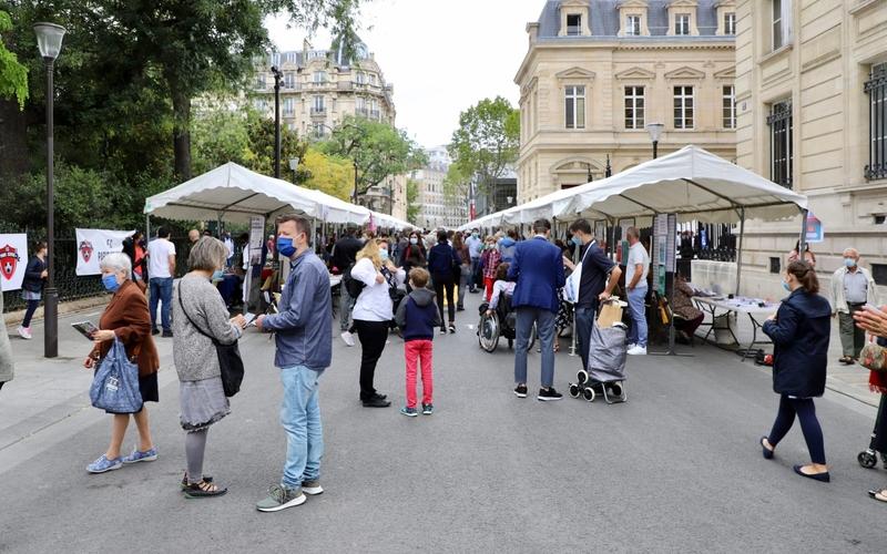 Fête de la vie associative et citoyenne de Paris Centre