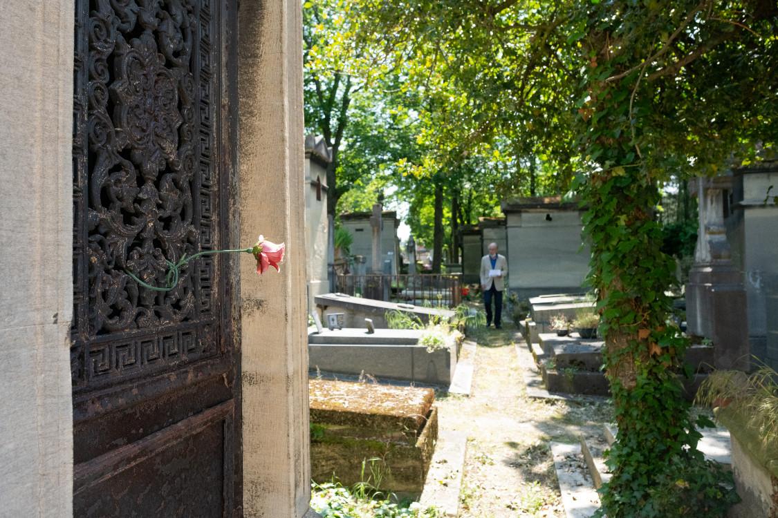 Le cimetière, lieu de recueillement