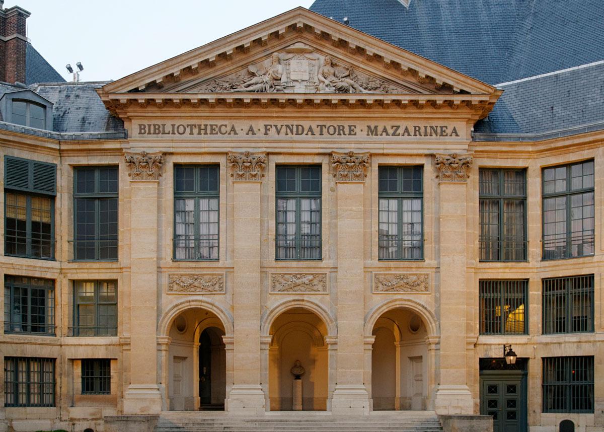 journées du patrimoine bibliothèque mazarine