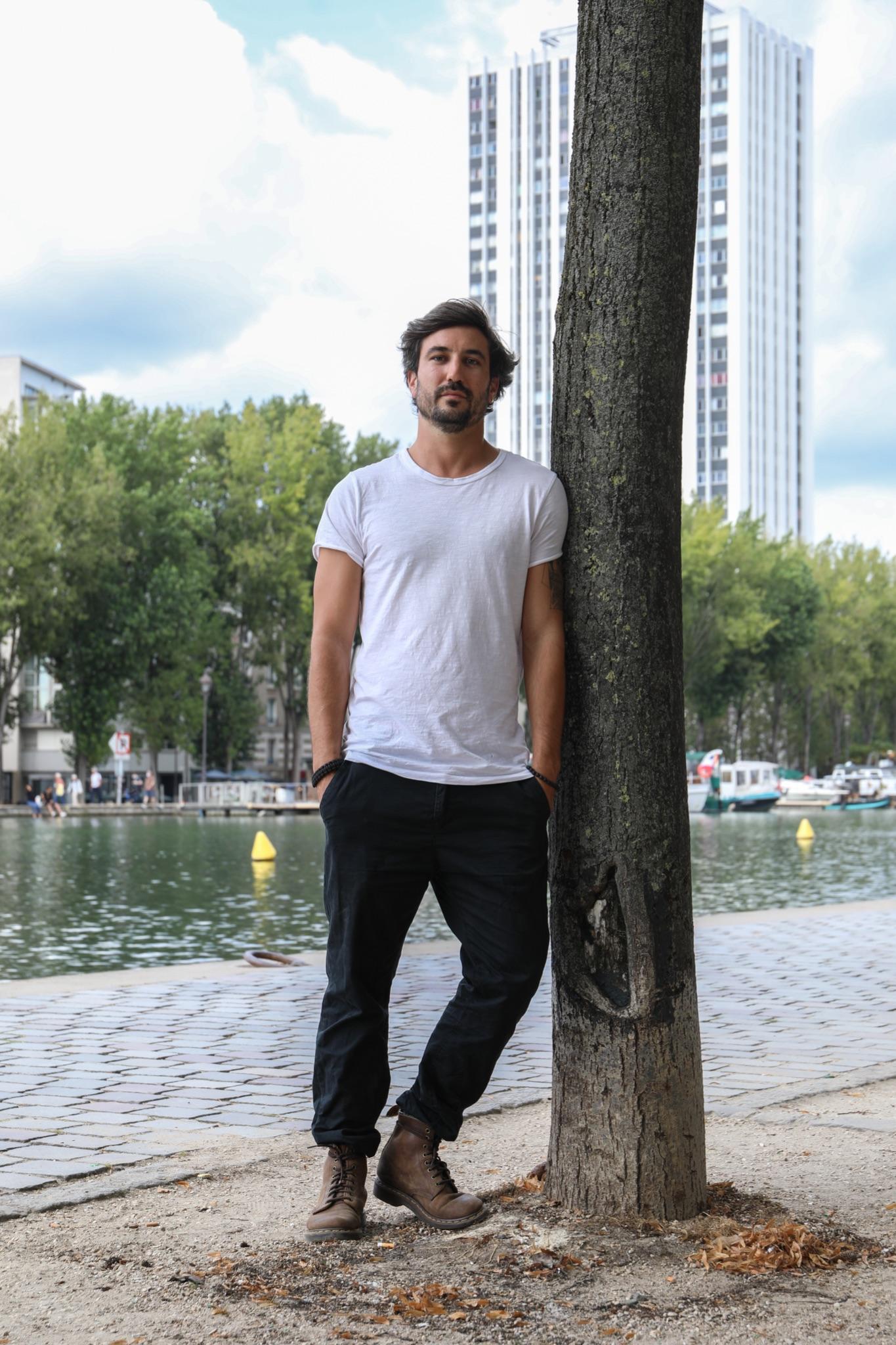Yann Leymarie de l'association surfrider