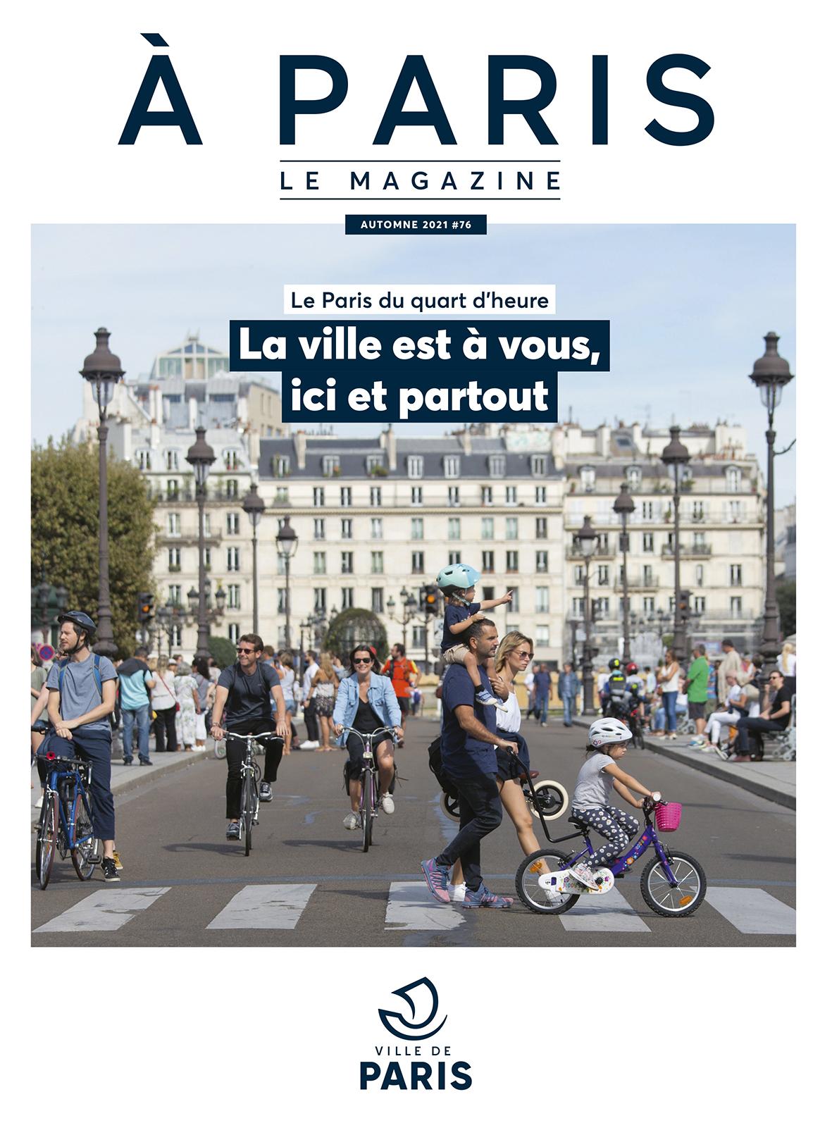 Couverture 76 A Paris