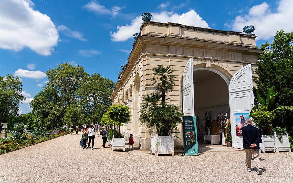 Orangerie du parc de Bagatelle (16e)