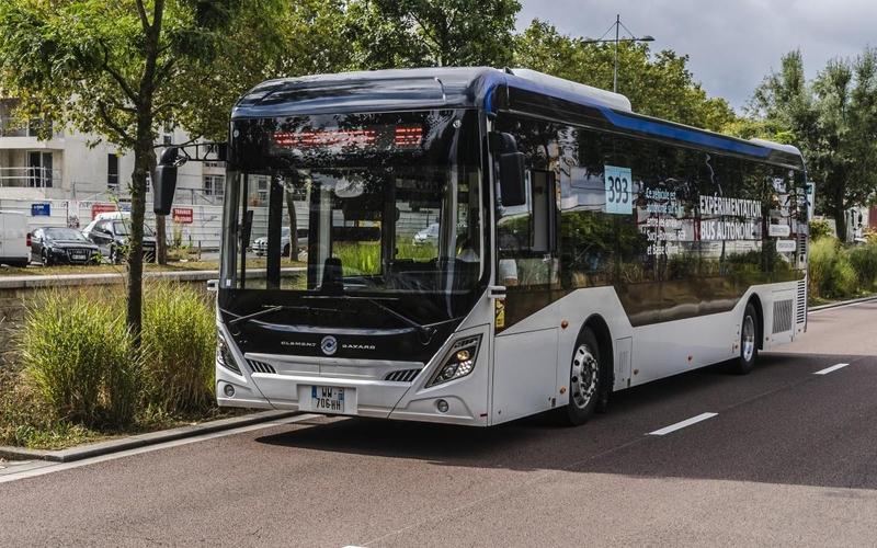 Bus autonome de la ligne 393
