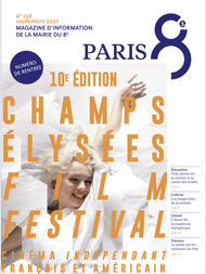 Couverture du magazine À Paris
