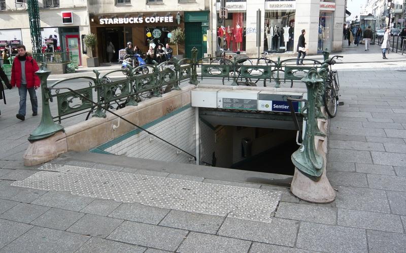 Station Métro Sentier