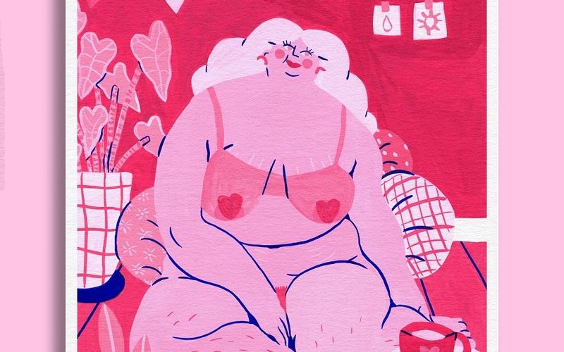 Pynk de Marie Boiseau, Marché de l'illustration impertinente au Hasard Ludique