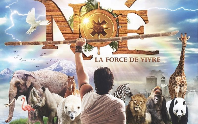 Le spectacle musical NOÉ, la force de vivre, à l'Hippodrome de Longchamp