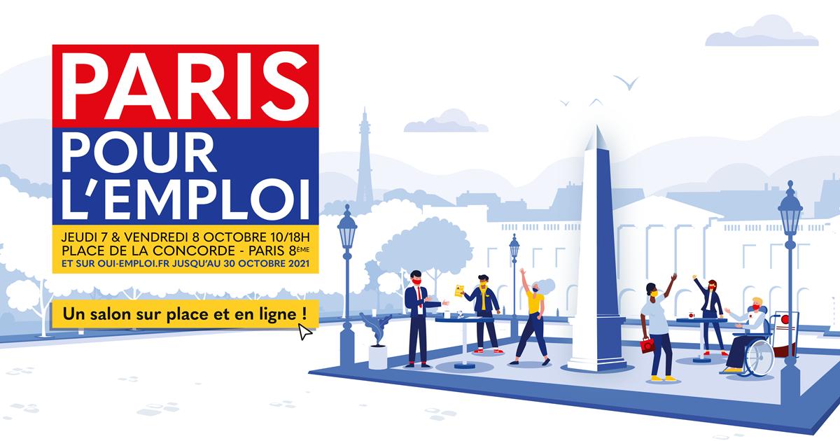 Paris pour l'emploi 2021