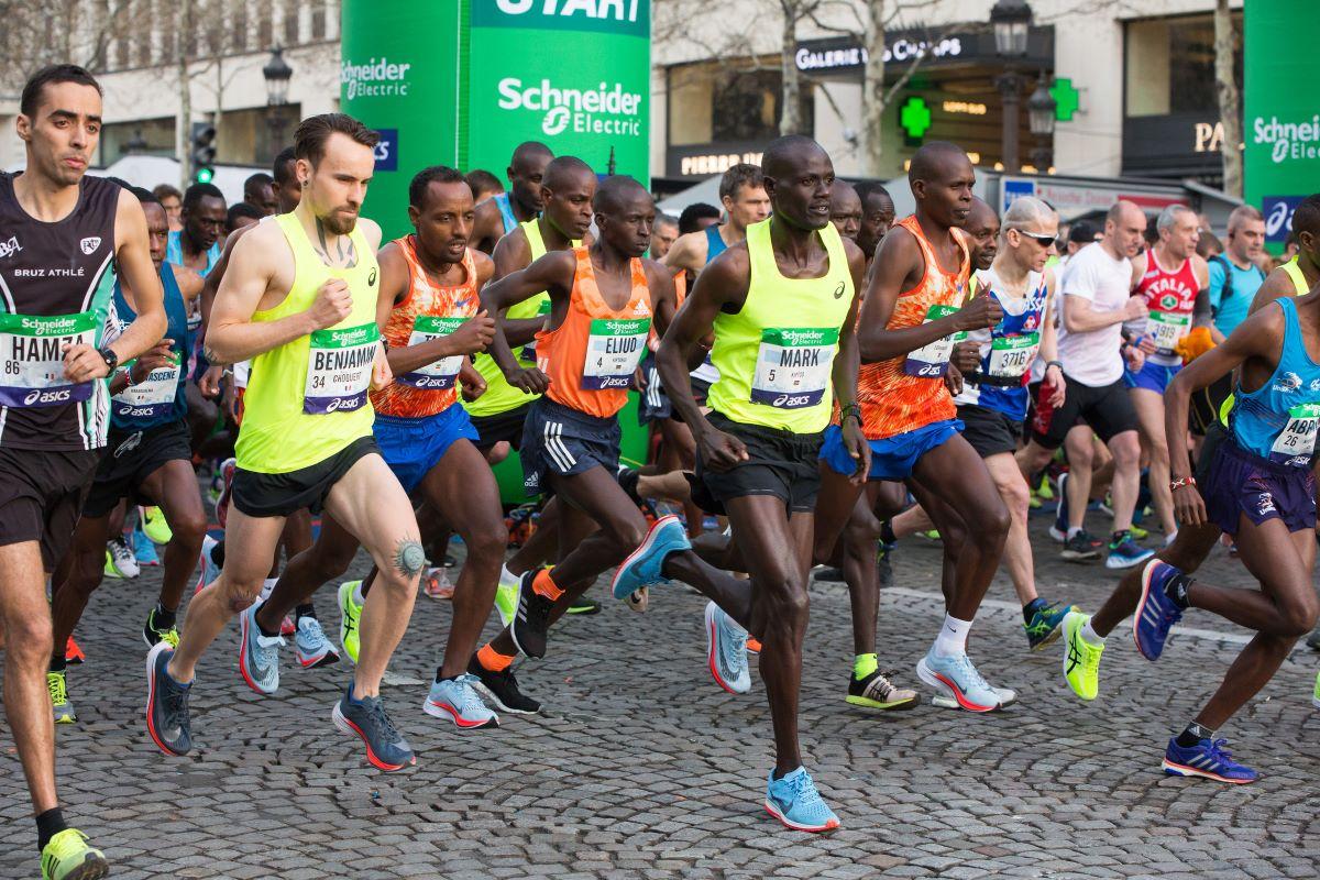 Schneider Electric Marathon de Paris en 2018.
