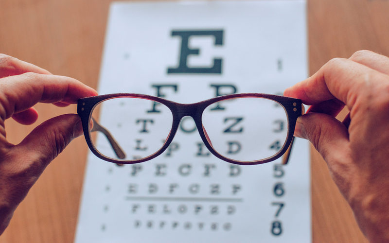 test de la vue