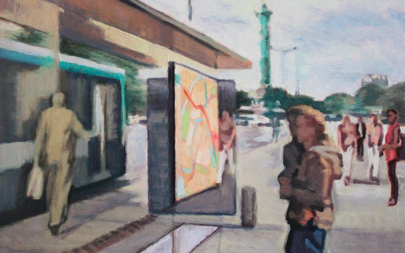 peinture Lionel Trébois