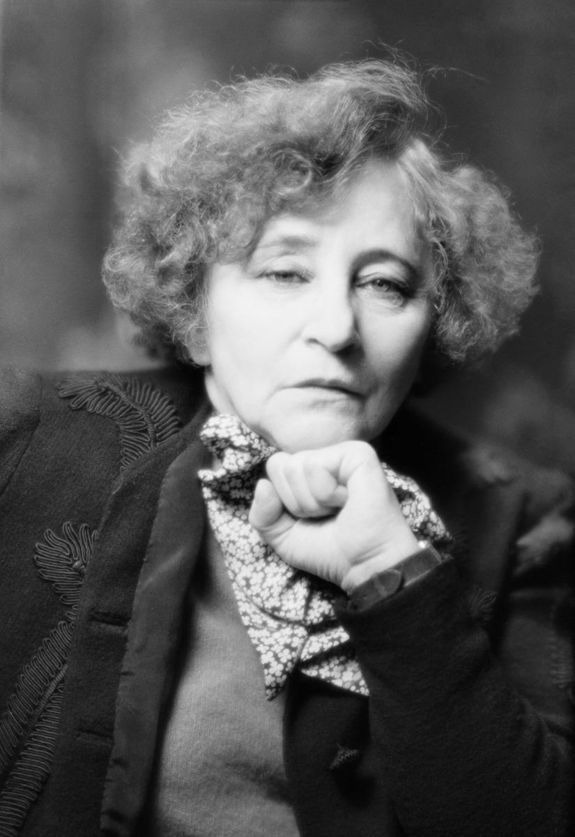 Colette (1873-1954), écrivain français, en 1939.