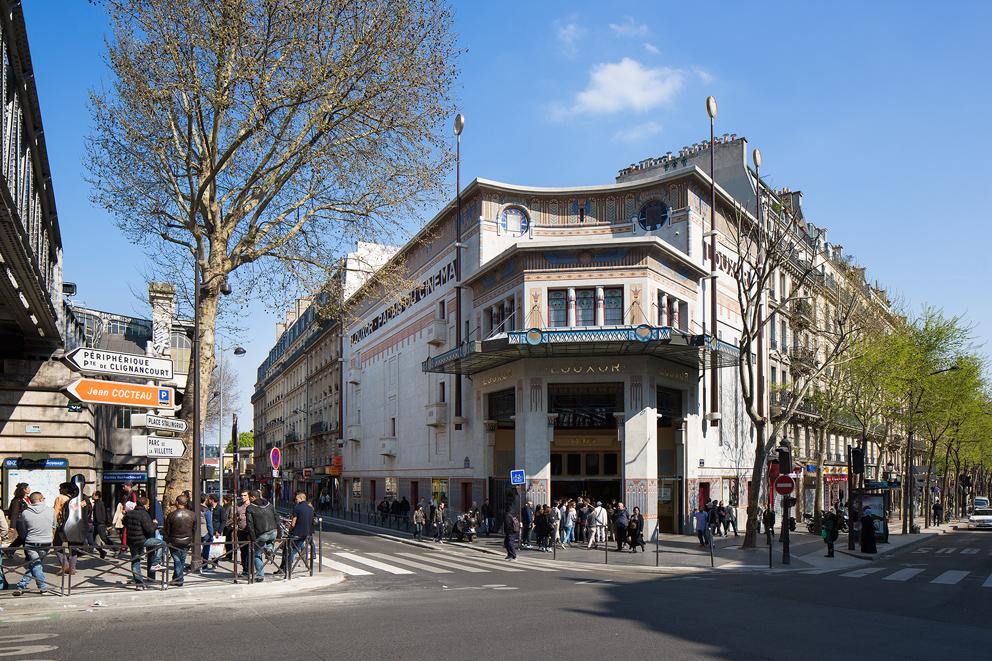 Façade du Louxor - Palais du Cinéma
