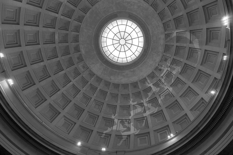The National Gallery of Art, dome