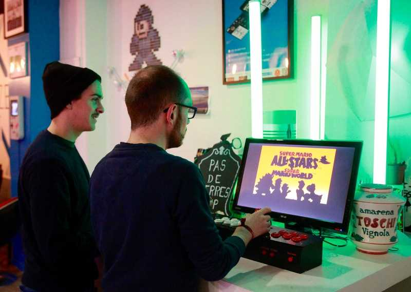 Arcade au DEUX POINT ZERO