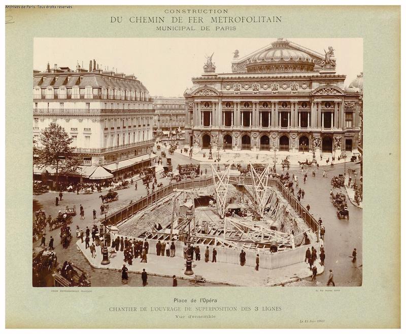 Place de l'Opéra, 1913