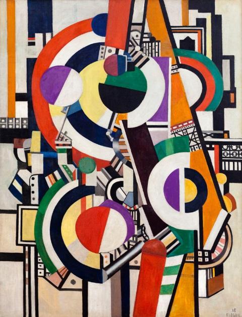 Fernand Léger, Les disques  1918