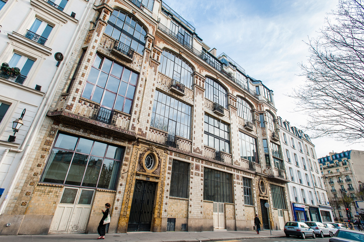 Man Ray et Kiki de Montparnasse vécurent dans l' immeuble Art Déco au 31 rue Campagne-Première