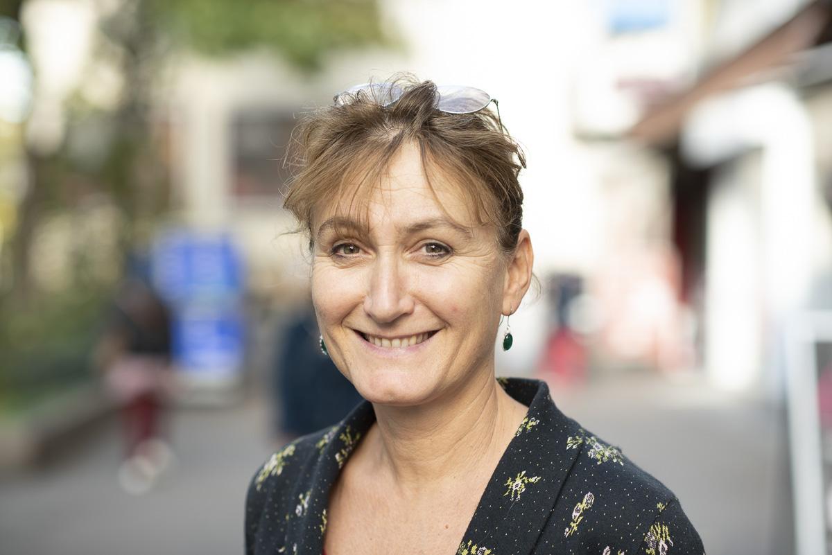 Sabine Arrondelle, Responsable de la Ressourcerie créative du 14e
