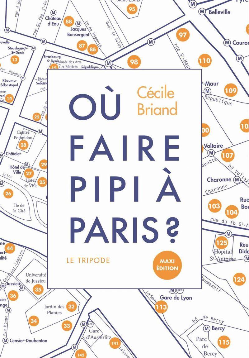 Où faire pipi à Paris?