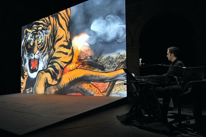 Contes Chinois de François Orsoni, spectacle de réouverture du Théâtre Paris Villette en 2013