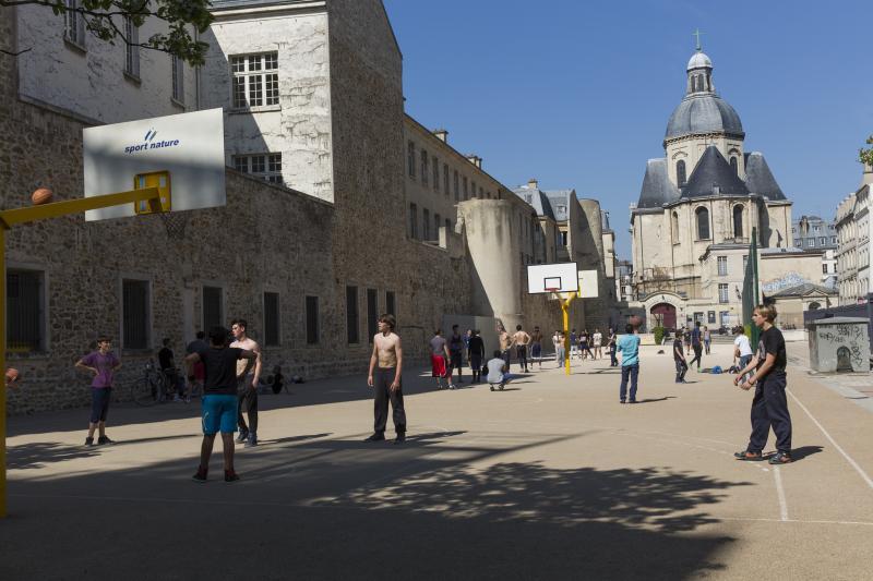 Terrain de basket Saint-Paul