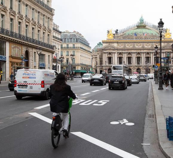 Aménagement avenue de l'Opéra