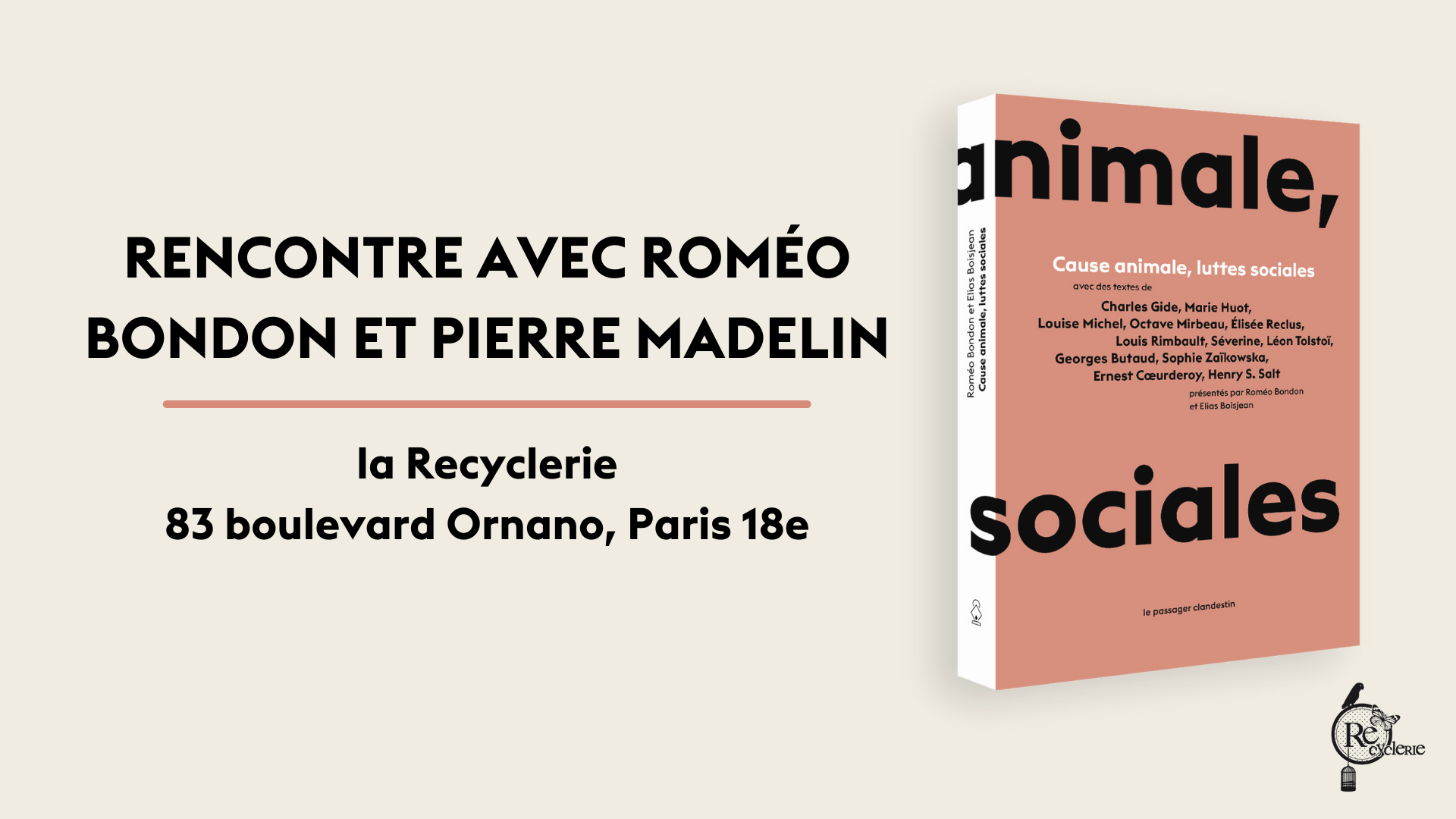 Rencontre avec Roméo Bondon et Pierre Madelin