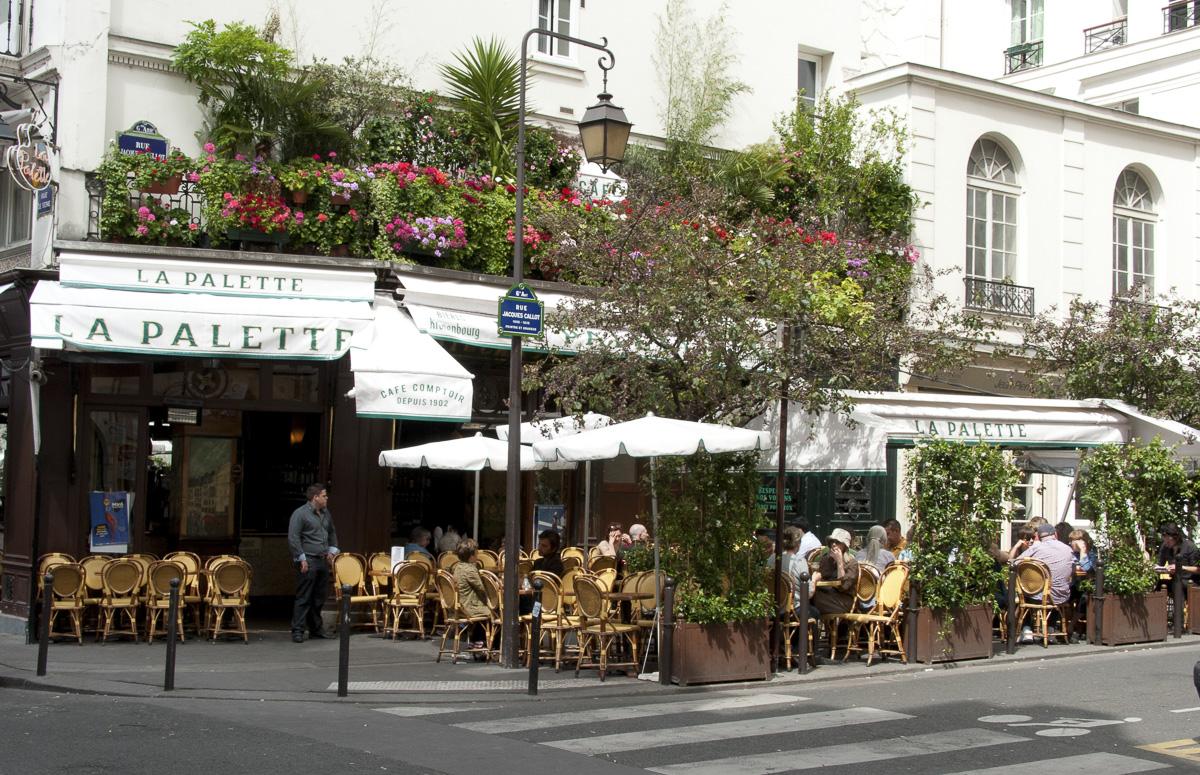 Le restaurant La Palette