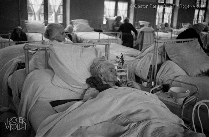 Gaston Paris (1903-1964), Hôpital de la Pitié-Salpétrière., Pavillon Antonin Gosset, Bibliothèque historique de la Ville de Paris Roger Viollet