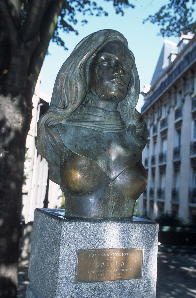 La statue de Dalida à Montmartre