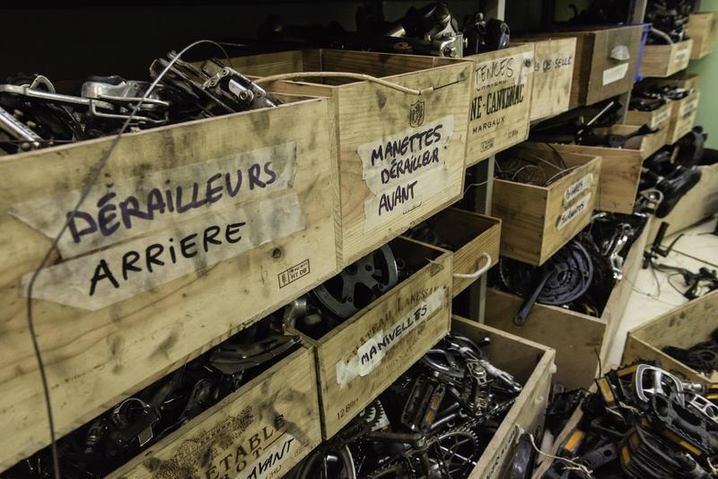 Matériel de réparation de vélos