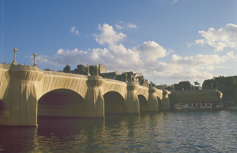 The Pont-Neuf Wrapped, Paris, 1975-1985