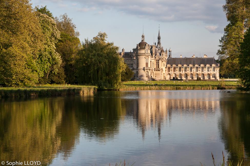 Vue du Parc Domaine de Chantilly