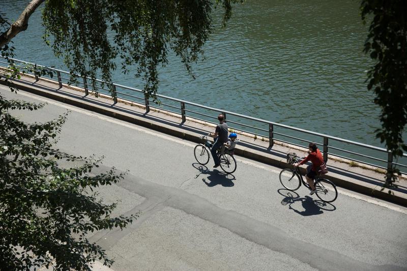 Berges de Seine rive droite