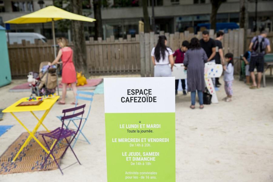 Cafezoide Paris Plages
