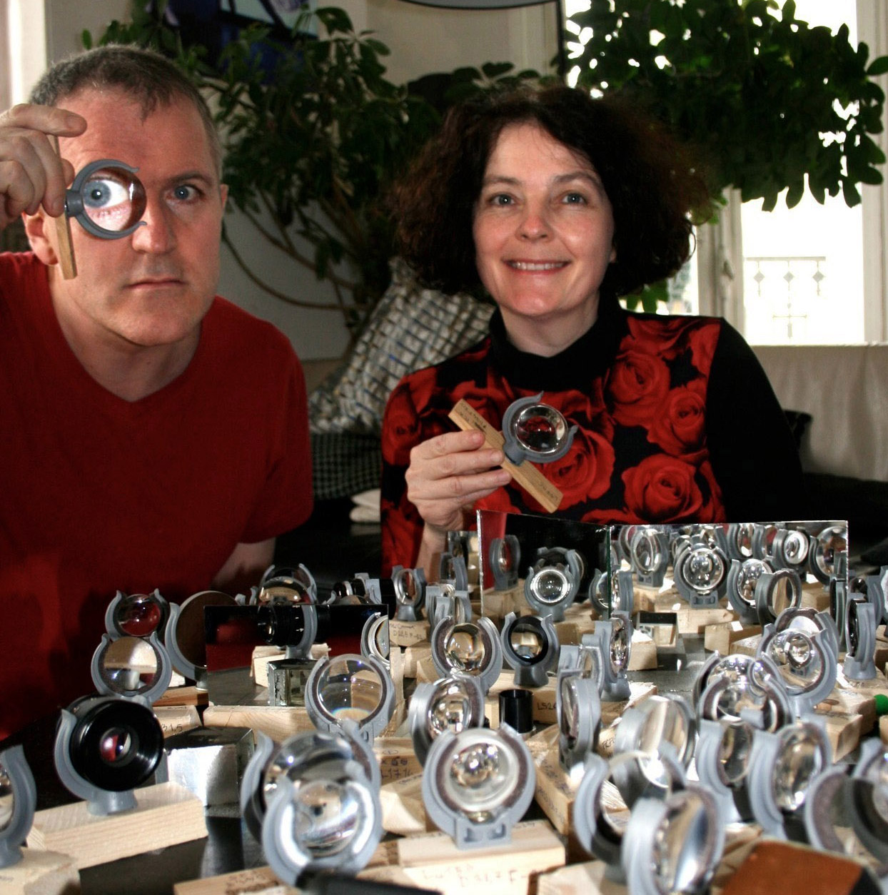 portrait Anne Cleary et Denis Connolly