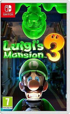 affiche Luigi's Mansion 3