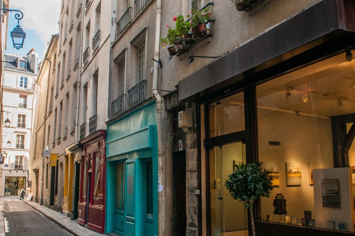 La rue Visconti (6e) où Balzac fut imprimeur.